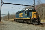 CSX 6239 on W950 PTC test train